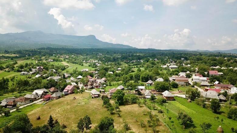 Satul Breb din Maramures