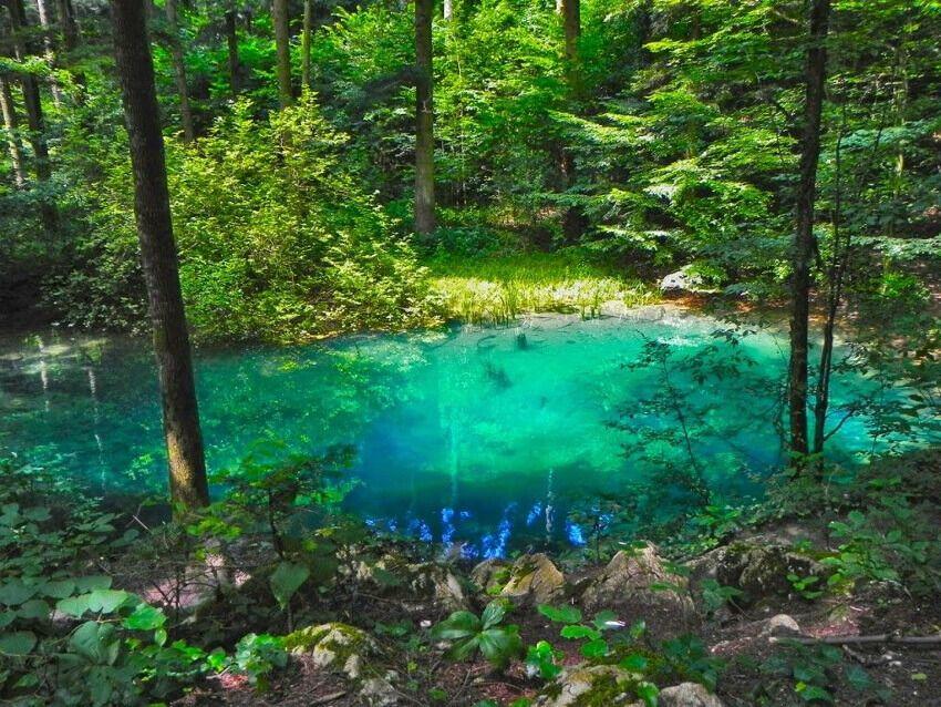 Lacul Albastru din Baia Sprie, Maramures