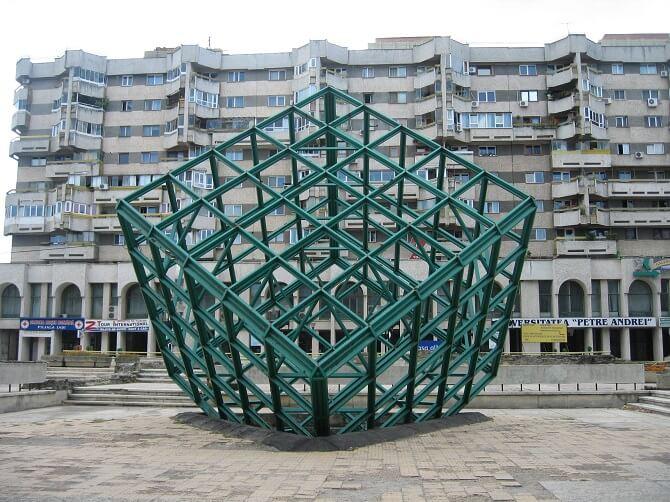 cubul verde iasi