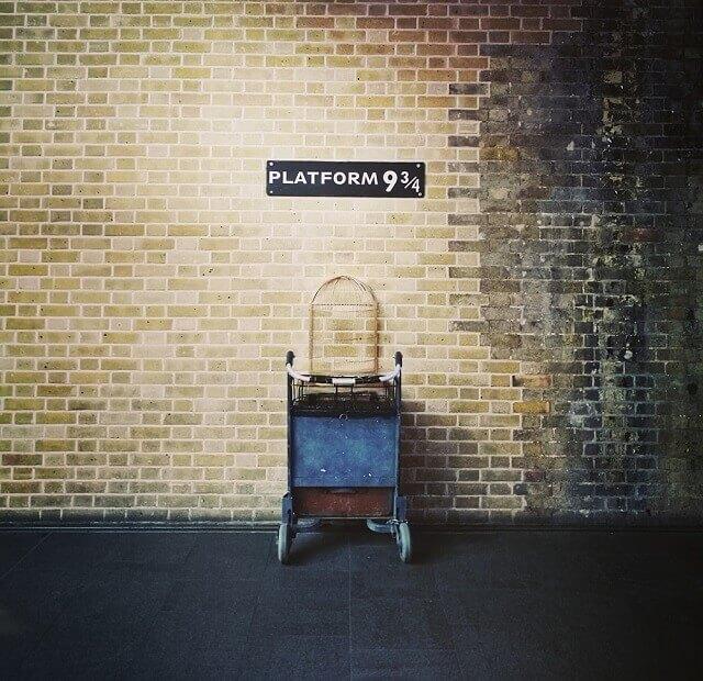 Platforma 9 ¾ din Londra