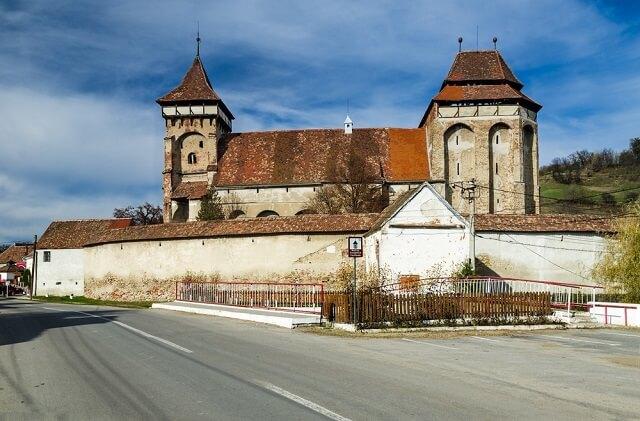 biserica fortificata din valea viilor