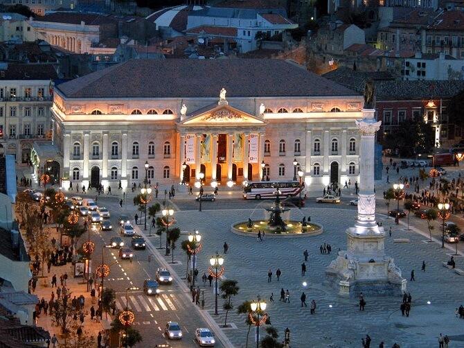 teatro nacional maria II lisabona