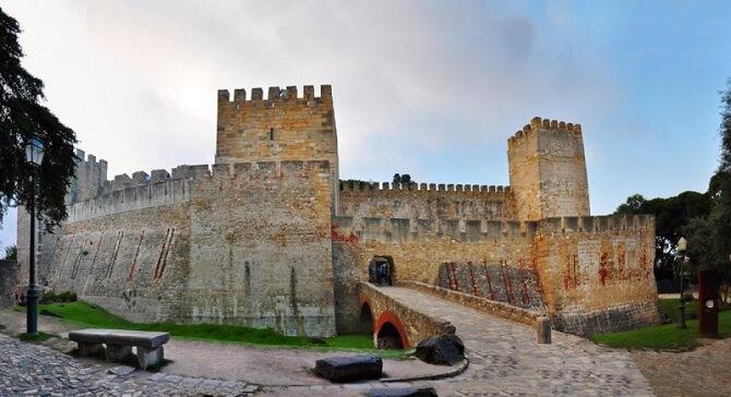 castelo de sao jorge lisabona