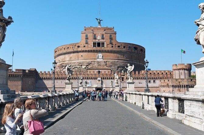 castelul saint angelo roma