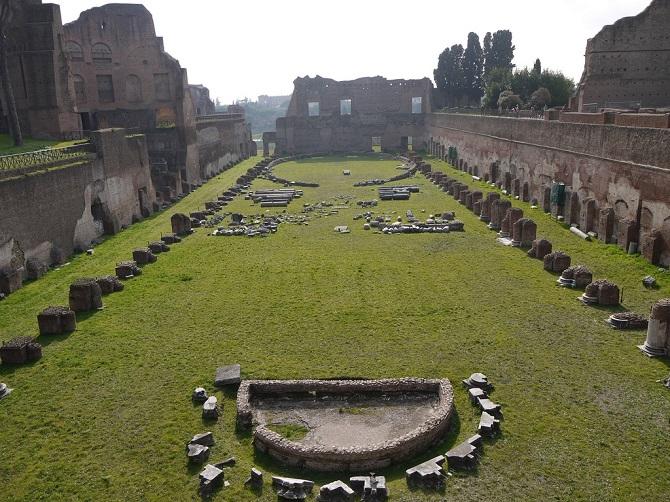 dealul palatin roma