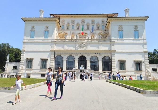 galeria borghese roma