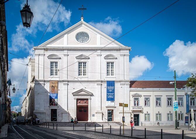igreja sao roque lisabona
