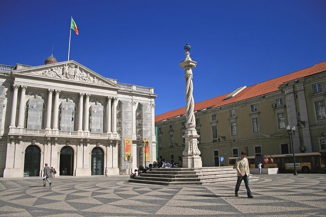 Praca do Minicipio - Camara Municipal Lisabona